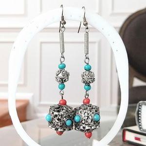 Boho unique Jewelmint drop earrings